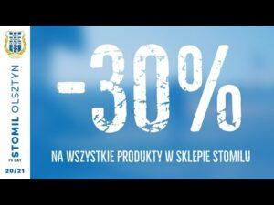 -30% na klubowe gadżety Stomilu Olsztyn