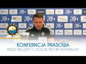 TV Stal: Konferencja prasowa przed meczem 11. kolejki PKO BP Ekstraklasy