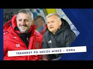 [MIEDŹ TV] Wypowiedzi trenerów po meczu Miedź Legnica – Odra Opole