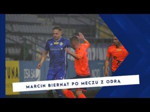 [MIEDŹ TV] Marcin Biernat ocenia spotkanie z Odrą Opole