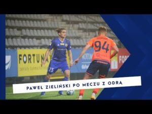 [MIEDZ TV] Paweł Zieliński po meczu Miedź – Odra