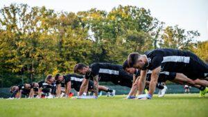 Czterech piłkarzy wróciło do treningów. Dwóch ostatnich dołączy wkrótce