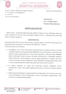 Read more about the article Briefing prasowy odnośnie PCLA