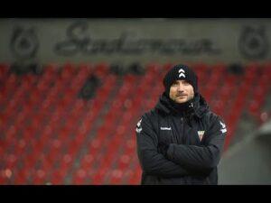 Read more about the article 15. kolejka Fortuna1Liga: Konferencja prasowa po meczu GKS Tychy – Widzew Łódź 2:1