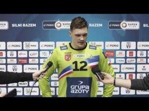 Energa MKS Kalisz – Azoty Puławy: Pomeczowa wypowiedź Mateusza Zembrzyckiego