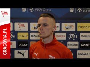 Read more about the article Dawid Szymonowicz po meczu z Wisłą Kraków (04.12.2020)