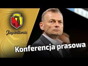 konferencja po meczu Jagiellonia vs Warta