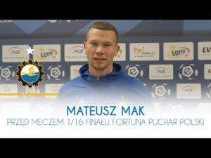 TV Stal: Mateusz Mak przed meczem 1/16 Finału Fortuna Puchar Polski