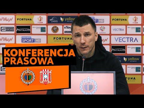 Konferencja prasowa po meczu Chrobry Głogów – Resovia