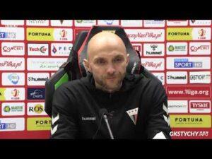 16. kolejka Fortuna1Liga: Konferencja prasowa po meczu GKS Tychy – Odra Opole 2:0