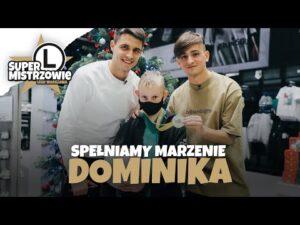 #SuperMistrzowie: Michał Karbownik i Bartosz Kapustka spełnili marzenie Dominika!