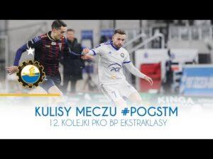 TV Stal: Kulisy meczu #POGSTM 12. kolejki PKO BP Ekstraklasy