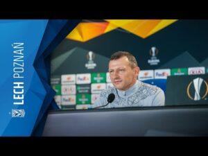 KONFERENCJA prasowa trenera DARIUSZA ŻURAWIA po meczu LECH Poznań – RANGERS FC