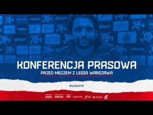 Konferencja prasowa przed meczem z Legią Warszawa (11.12.2020)