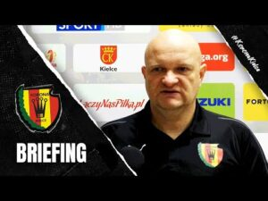 Trener Bartoszek przed meczem z Radomiakiem (11.12.2020)