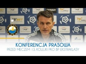 TV Stal: Konferencja prasowa przed meczem 13. Kolejki PKO BP Ekstraklasy
