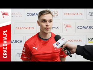 Jakub Šaur po meczu z GKS Tychy (11.20.2020)