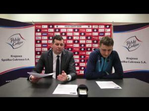 Konferencja po meczu Polski Cukier Toruń – GTK Gliwice