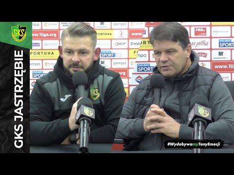 [GKS TV] Konferencja prasowa po meczu z Resovią