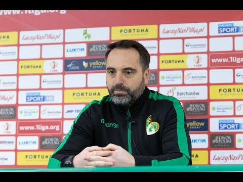 Konferencja prasowa po meczu GKS Bełchatów – Puszcza Niepołomice 0:2