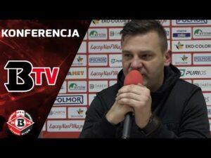 Konferencja prasowa po meczu Bytovia – Górnik Polkowice (0:2)