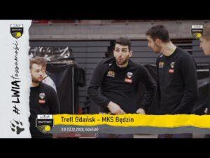 Zwycięstwo #gdańskichlwów za trzy punkty z MKS-em Będzin | Trefl Gdańsk