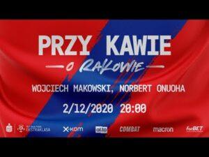 Read more about the article Przy kawie o Rakowie: Wojciech Makowski i Norbert Onuoha