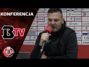 Read more about the article Konferencja prasowa po meczu Bytovia – GKS Katowice (1:2)