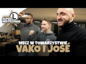 Read more about the article OGLĄDAMY MECZ LEGII Z VAKO, JOSE I MAKSEM!   #SuperMistrzowie