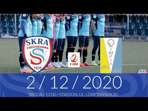 [NA ŻYWO] Skra Częstochowa – Olimpia Elbląg – 2.12.2020