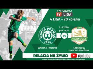 Transmisja meczu: Warta II Poznań – Tarnovia Tarnowo Podgórne