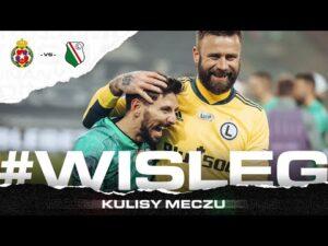 WALCZYMY DO KOŃCA! Kulisy meczu z Wisłą Kraków