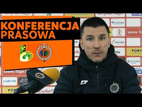 Konferencja prasowa po meczu GKS Bełchatów – Chrobry Głogów