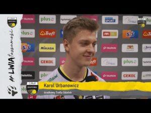 Read more about the article Ósma wygrana z rzędu – Marcin Janusz i Karol Urbanowicz po meczu ze Stałą Nysa | Trefl Gdańsk