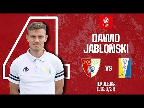 Dawid Jabłoński vs Pogoń Siedlce | Olimpijska Bramka Roku – 2. Liga