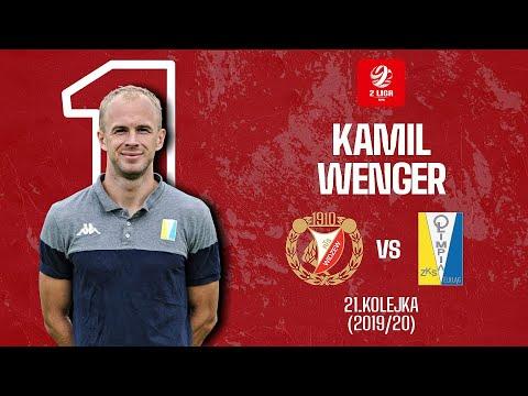 Kamil Wenger vs Widzew Łódź | Olimpijska Bramka Roku – 2. Liga