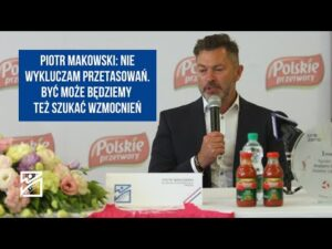 Read more about the article Piotr Makowski: To oczywiste, że nie jesteśmy zadowoleni z miejsca, które obecnie zajmujemy
