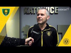 Dyrektor Robert Góralczyk podsumowuje rundę jesienną w GKS-ie Katowice (17 12 2020)