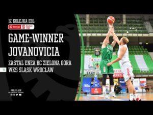 Game-winner Strahinji Jovanovicia w Zielonej Górze