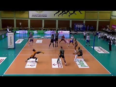 Akcja meczu VERVA Warszawa ORLEN Paliwa – Cuprum Lubin