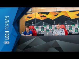 KONFERENCJA prasowa LECHA POZNAŃ przed meczem z SL BENFIKĄ