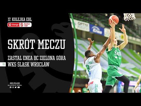 #17 SKRÓT: Stelmet Enea BC Zielona Góra – WKS Śląsk Wrocław 80:84