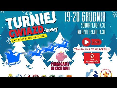(NA ŻYWO)  TURNIEJ GWIAZD-kowy Piłki Nożnej Rocznika 2012 w Suwałkach DZIEŃ 1