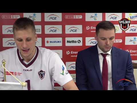 Konferencja prasowa po meczu PGE Spójnia Stargard – Trefl Sopot