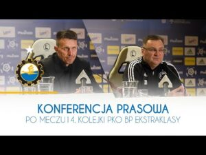 TV Stal: Konferencja prasowa po meczu 14. kolejki PKO BP Ekstraklasy