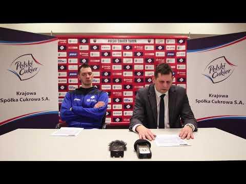Konferencja po meczu Polski Cukier Toruń – Legia Warszawa