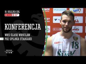 #18 Konferencja prasowa po meczu WKS Śląsk Wrocław – PGE Spójnia Stargard (23.12.2020 r.)