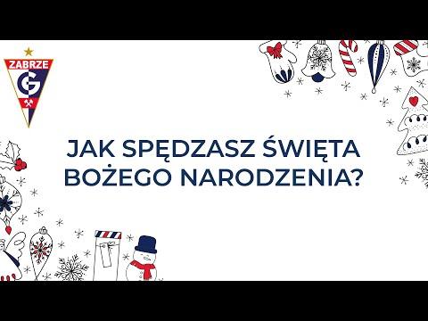 Świąteczna ankieta zawodników Górnika