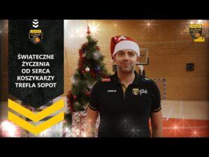 Życzenia świąteczne od serca składa drużyna Trefla Sopot | Trefl Sopot
