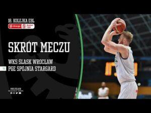 #18 SKRÓT: WKS Śląsk Wrocław – PGE Spójnia Stargard 95:94